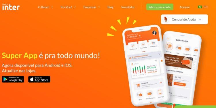 aplicativo banco inter