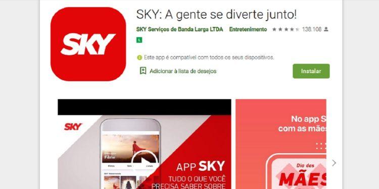 App Minha Sky – TV por assinatura no celular!