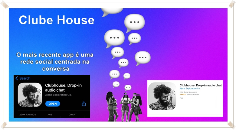 clubhouse rede social